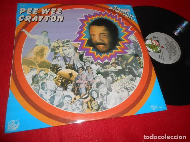 PEE WEE CRAYTON EXPLOSION ROCK&ROLL VOL.3 LP 1981 ALLIGATOR RECORDS EDICION ESPAÑOLA SPAIN (Música - Discos - LP Vinilo - Pop - Rock - Internacional de los 70)