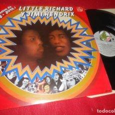 Discos de vinilo: LITTLE RICHARD Y JIMMY HENDRIX EXPLOSION ROCK&ROLL VOL.8 LP 1981 ALLIGATOR EDICION ESPAÑOLA SPAIN. Lote 135364298
