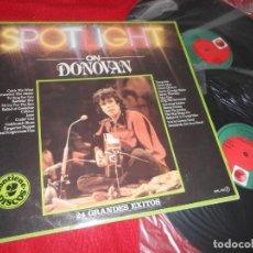 Discos de vinilo: DONOVAN SPOTLIGHT ON DONOVAN 2LP 1982 PRT EDICION ESPAÑOLA SPAIN. Lote 135364582