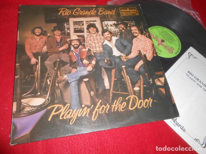 RIO GRANDE BAND PLAYIN' FOR THE DOOR LP 1980 GUIMBARDA EDICION ESPAÑOLA SPAIN+LIBRETO (Música - Discos - LP Vinilo - Pop - Rock - Internacional de los 70)