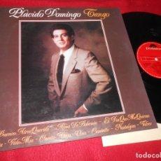 Discos de vinilo: PLACIDO DOMINGO TANGO LP 1981 POLYDOR EDICION ESPAÑOLA SPAIN. Lote 135365214