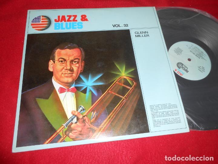 GLENN MILLER JAZZ&BLUES VOL.32 LP 1982 APOLO EDICION ESPAÑOLA SPAIN (Música - Discos - LP Vinilo - Jazz, Jazz-Rock, Blues y R&B)