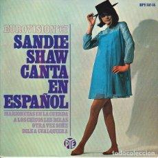 Discos de vinilo: SANDIE SHAW ?– CANTA EN ESPAÑOL - EUROVISION '67 (ESPAÑA, 1967). Lote 135368430