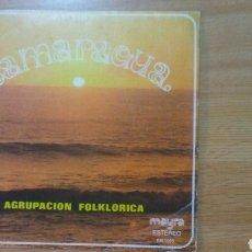 Discos de vinilo: TAMARAGUA - AGRUPACION FOLKLORICA. Lote 135373811