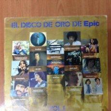 Discos de vinilo: EL DISCO DE ORO DE EPIC. Lote 135382753