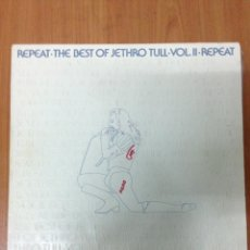 Discos de vinilo: REPEAT THE BEST OF JETHRO. Lote 135384319