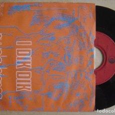 Discos de vinilo: I DIK DIK IL - PRIMO GIORNO DI PRIMAVERA + NUVOLA - SINGLE SUIZO 1969 - RICORDI. Lote 135386374