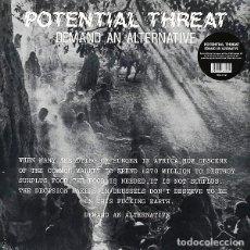 Discos de vinilo: POTENTIAL THREAT - DEMAND AN ALTERNATIVE - 2015 BEAT GENERATION RECORDS 180 GRAM VINYL REISSUE. Lote 135397414