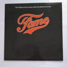 Discos de vinilo: FAME: THE ORIGINAL SOUNDTRACK FROM THE MOTION PICTURE. LP. TDKDA35. Lote 135397686