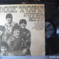 Discos de vinil: THE BOX TOPS SUPER HITS LP SPAIN 1969 PDELUXE. Lote 135399426