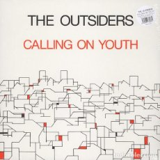 Discos de vinilo: THE OUTSIDERS - CALLING ON YOUTH - 2014 BEAT GENERATION RECORDS 180 GRAM VINYL REISSUE. Lote 135399878