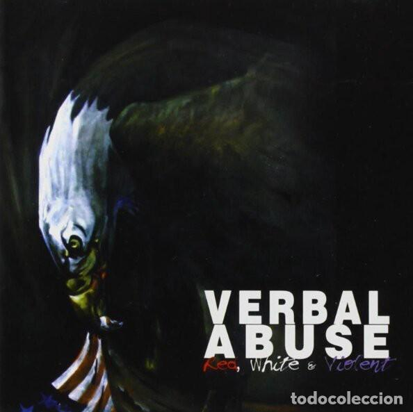 VERBAL ABUSE - RED,WHITE & VIOLENT - 2017 BEAT GENERATION LIMITED EDITION REISSUE (Música - Discos - LP Vinilo - Punk - Hard Core)
