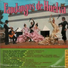 Discos de vinilo: FANDANGOS DE HUELVA / NIÑA DE LA PUEBLA, FOSFORITO, ARGENTINA CORAL...LP BELTER RF-6372. Lote 135404722