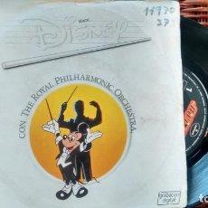 Disques de vinyle: SINGLE (VINILO) MAGIC DISNEY CON THE ROYAL PHILARMONIC ORCHESTRA AÑOS80. Lote 135410314