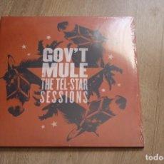 Discos de vinilo: GOV´T MULE. THE TEL*STAR SESSIONS, DOBLE LP, GATEFOLD.. Lote 135415278