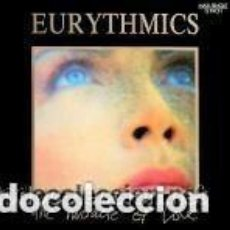 Discos de vinilo: EURYTHMICS - THE MIRACLE OF LOVE - MAXI-SINGLE SPAIN 1986. Lote 135422366