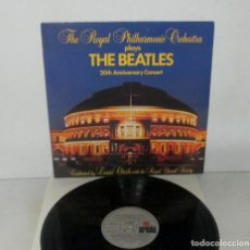 Discos de vinilo: THE BEATLES - 20 TH ANNIVERSARY / THE ROYAL PHILHARMONIC ORCHESTRA PLAYS LP ARIOLA 1983 SPAIN N MINT. Lote 135422398