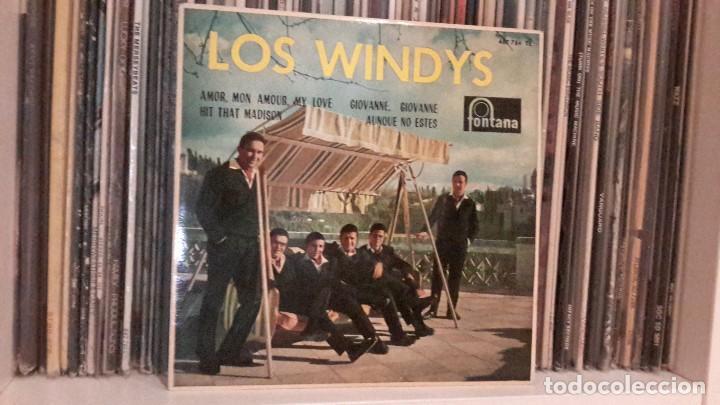 LOS WINDYS - AMOR, MON AMOUR, MY LOVE (Música - Discos de Vinilo - EPs - Grupos Españoles 50 y 60)