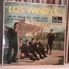 Discos de vinilo: LOS WINDYS - AMOR, MON AMOUR, MY LOVE. Lote 135427390