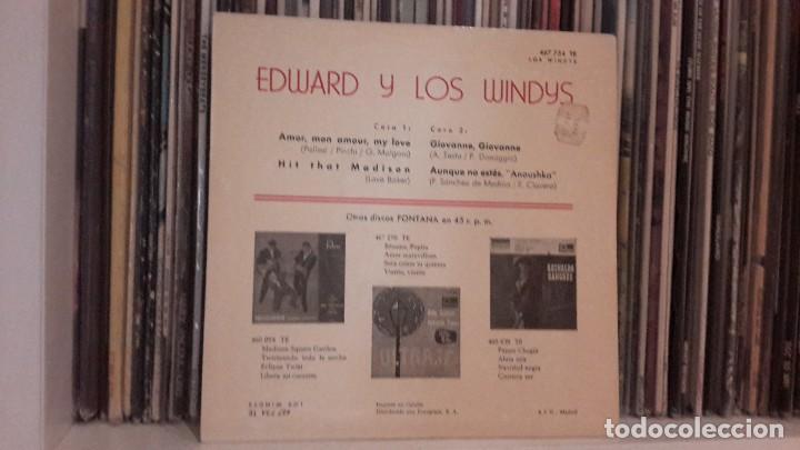 Discos de vinilo: LOS WINDYS - AMOR, MON AMOUR, MY LOVE - Foto 2 - 135427390