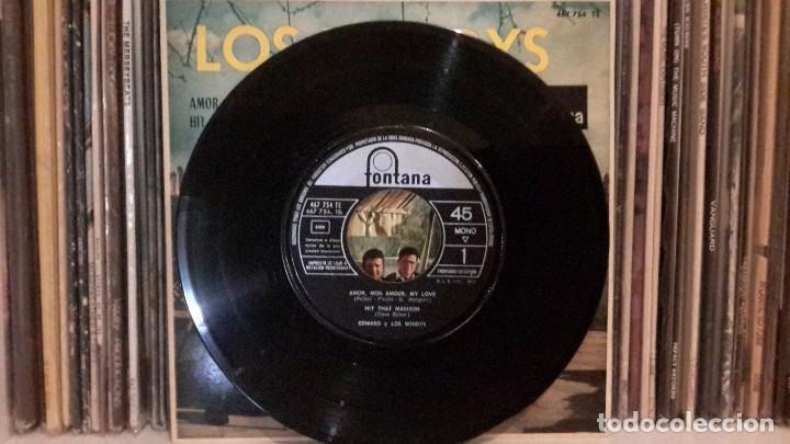 Discos de vinilo: LOS WINDYS - AMOR, MON AMOUR, MY LOVE - Foto 3 - 135427390