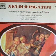 Disques de vinyle: EL MUNDO DE LA MÚSICA 51 / NICCOLO PAGANINI / LP / PRECINTADO. *****. Lote 135428950