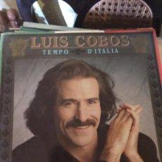 Discos de vinilo: LUIS COBOS-TIEMPO DE ITALIA. Lote 135436415