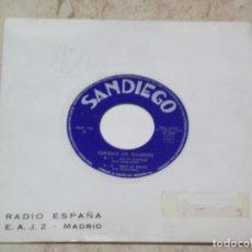 Discos de vinilo: CONJUNTO LOS DIAMANTES -EP- ASI ES CALELLA+3-PROMOCIONAL RADIO ESPAÑA-MADRID-1966-. Lote 135436462