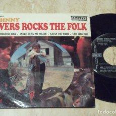 Discos de vinilo: JOHNNY RIVERS ROCKS THE FOLK - MR TAMBOURINE MAN + 3 // EP 1966-EDICION ESPAÑOLA -. Lote 135438054