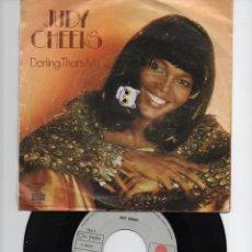 Discos de vinilo: DISCO DE 45 REVOLUCIONES STEREO DE JUDY CHEEKS SELLO ARIOLA DEL AÑO 1978. Lote 135438178