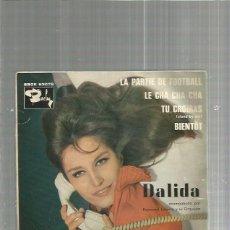 Discos de vinilo: DALILA PARTIE FOOTBALL. Lote 135439362