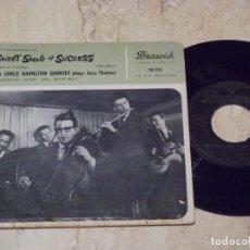 Discos de vinilo: THE CHICO HAMILTON QUINTET ?–SWEET SMELL OF SUCESS VOL.2 /RARE FRANCE EDITION-1957-BRUNSWICK ?10123. Lote 135441150