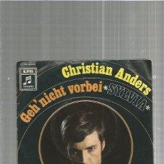 Discos de vinilo: CHRISTIAN ANDERS GEH. Lote 135441534