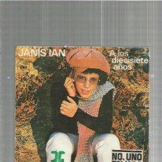 Discos de vinilo: JANIS IAN DIECISIETE. Lote 135442182