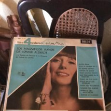 Discos de vinilo: RONNIE ALDRICH LOS MAGNÍFICOS PIANOS. Lote 135448050