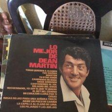 Discos de vinilo: LO MEJOR DE DEAN MARTIN LP. Lote 135448822