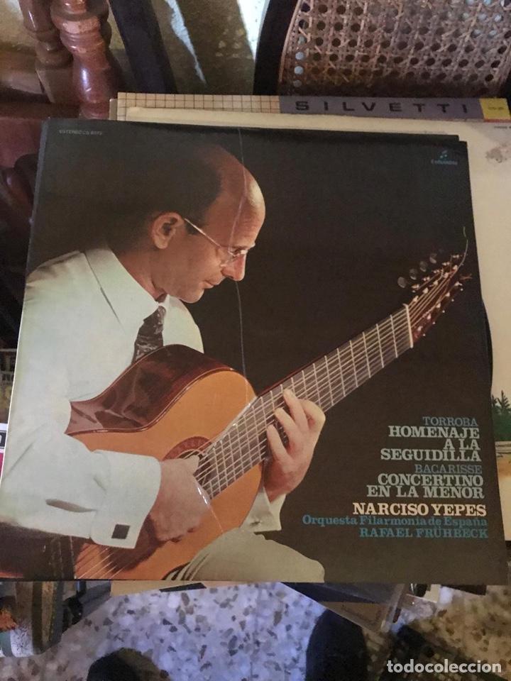 NARCISO YEPES-HOMENAJE A LA SEGUIDILLA (Música - Discos - LP Vinilo - Cantautores Extranjeros)