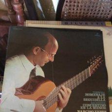 Discos de vinilo: NARCISO YEPES-HOMENAJE A LA SEGUIDILLA. Lote 135451669