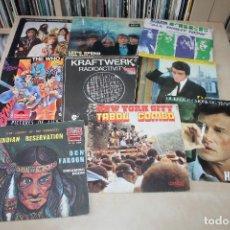 Discos de vinilo: LOTE -SG EP- VARIOS ROLLINGS, WHO, FREE, KRAFTWERK. Lote 135453854