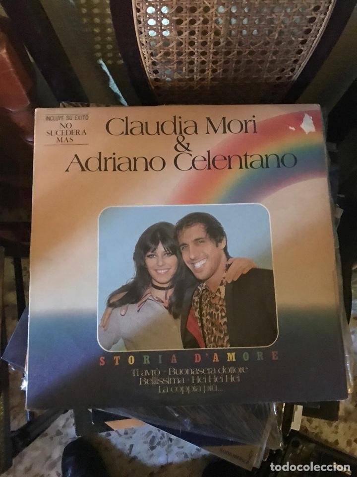 CLAUDIA MON & ADRIANO CELENTANO (Música - Discos - LP Vinilo - Cantautores Extranjeros)