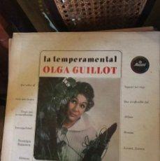 Discos de vinilo: LA TEMPERAMENTAL OLGA GUILLOT LP USA. Lote 135462123