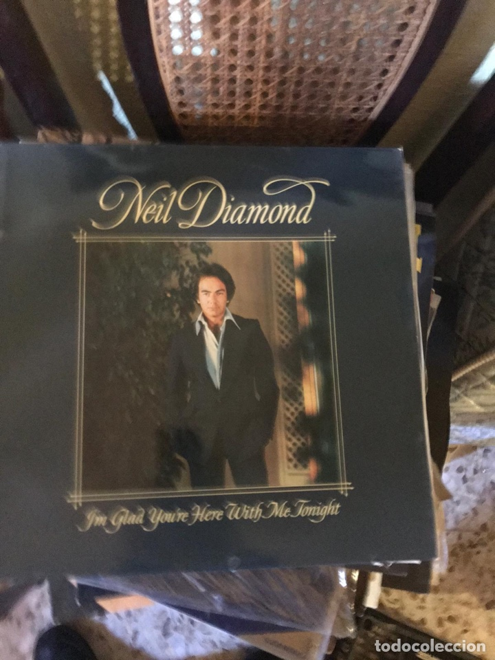 NEIL DIAMOND ( I'M GLAD YOU'RE HERE WITH ME TONIGHT ) 1977 - HOLANDA LP33 CBS (Música - Discos - LP Vinilo - Cantautores Extranjeros)