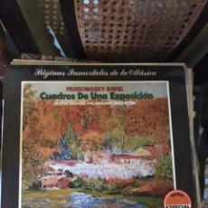 Discos de vinilo: MUSSORGSKY - RAVEL. CUADROS DE UNA EXPOSICIÓN. Lote 135462967