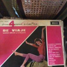 Discos de vinilo: DE VIAJE. Lote 135463450