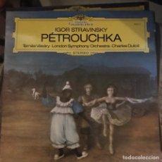 Discos de vinilo: STRAWINSKY. PETROUCHKA. TAMAS VASARY. LONDON SYMPHONY. LP 33 RPM DEUTSCHE G. 1977. Lote 135464621