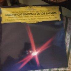 Discos de vinilo: SINFONIA DE LOS SALMOS. MAGNIFICATA. Lote 135465167