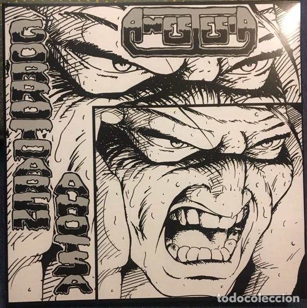 ANESTESIA - GORROTOAREN AHOTSA - 2018 ESAN OZENKI RECORDS GATEFOLD SLEEVE REMASTERED REISSUE (Música - Discos - LP Vinilo - Punk - Hard Core)