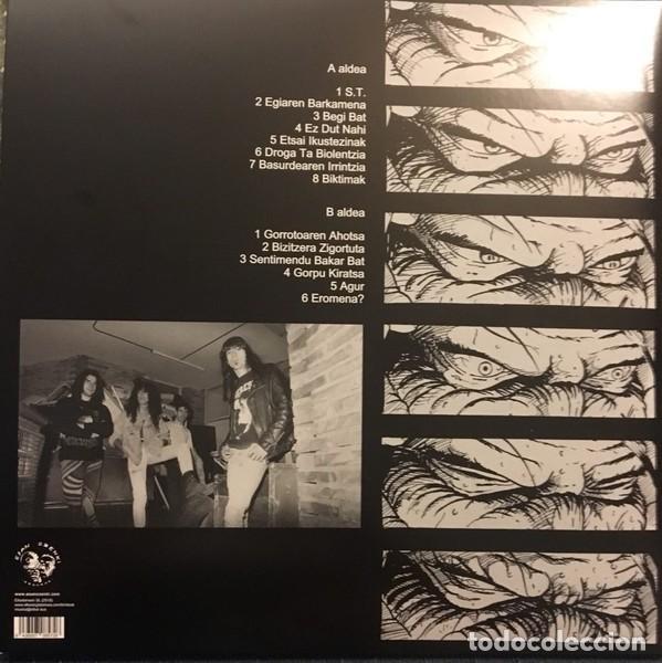 Discos de vinilo: ANESTESIA - GORROTOAREN AHOTSA - 2018 ESAN OZENKI RECORDS GATEFOLD SLEEVE REMASTERED REISSUE - Foto 2 - 135470018