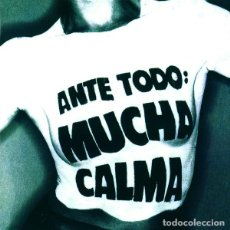 Discos de vinilo: SINIESTRO TOTAL - ANTE TODO MUCHA CALMA - 2XLP - 2015 GATEFOLD SLEEVE REMASTERED REISSUE. Lote 135470130