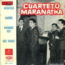 Discos de vinilo: CUARTETO MARANATHA / ESQUI ACUATICO + 3 (EP 1965). Lote 135476602